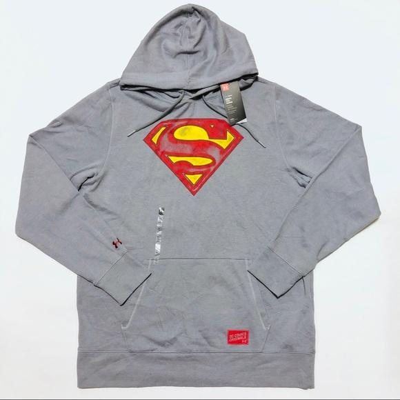 b3215b4545b2 DC Comics x Under Armour Superman Hoodie Mens XL